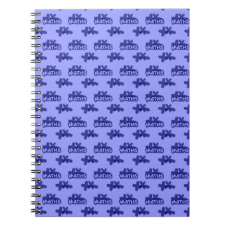 For Perfect gift maths to lover - Blue model Notebook