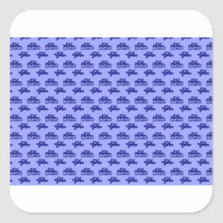For Perfect gift maths to lover - Blue model Square Sticker