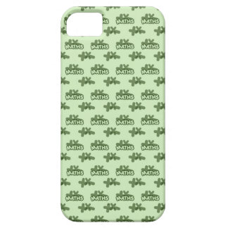 For Perfect gift maths to lover - Green model iPhone 5 Case