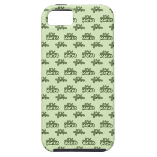 For Perfect gift maths to lover - Green model iPhone 5 Covers