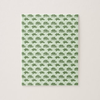For Perfect gift maths to lover - Green model Jigsaw Puzzle