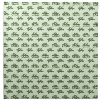 For Perfect gift maths to lover - Green model Napkin