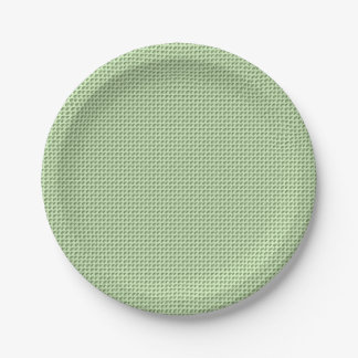 For Perfect gift maths to lover - Green model Paper Plate