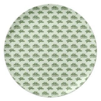 For Perfect gift maths to lover - Green model Plate