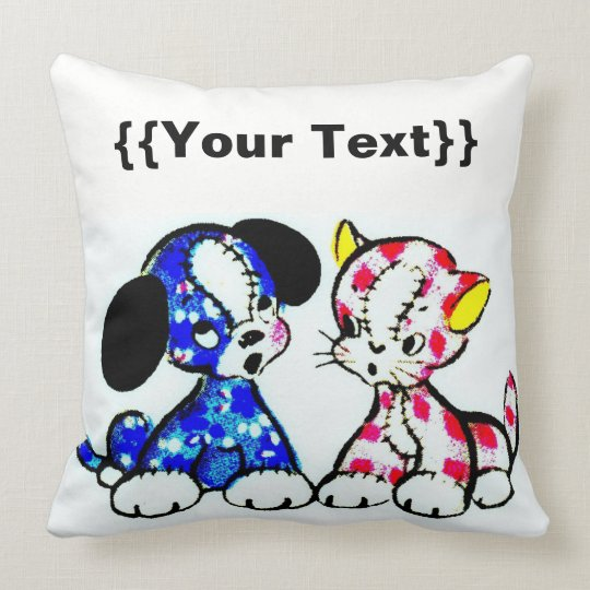 For Pets Throw Pillow