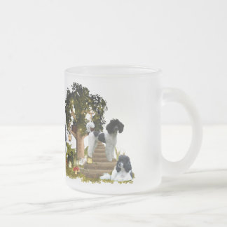 For - poodle lovers frosted glass coffee mug