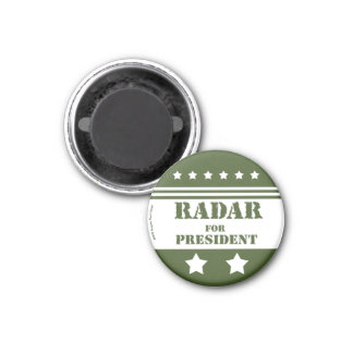 For President Radar Magnet