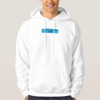 For Rectal Use Only hoodie / hooded sweatshirt