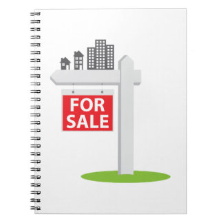 For Sale Sign Notebooks
