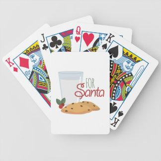 For Santa Poker Deck