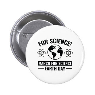 For Science! 2 Inch Round Button