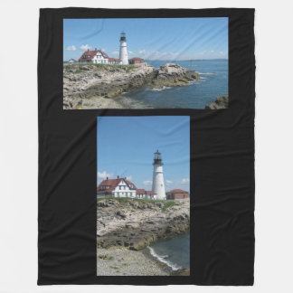For show or to keep warm for the lighthouse lover fleece blanket