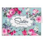 For Sister on Mother's Day Greeting Cards