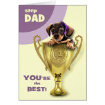 For Stepfather on Father's Day Greeting Cards
