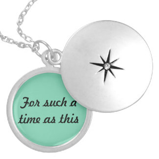 For Such A Time Is This (Esther 4:14) Necklace