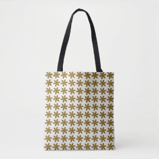 For th Love of Shopping - Kraft Daisy Tote
