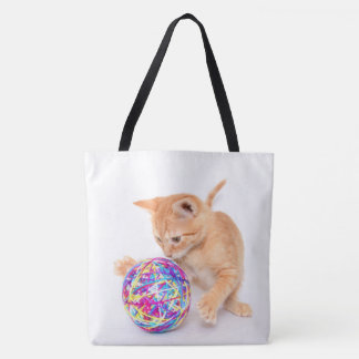 For the Amusement of Cats: Playful Colby Tote