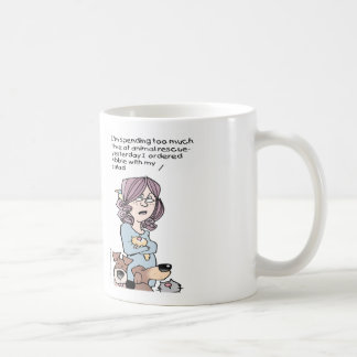 For the Animal Rescuer! Coffee Mug