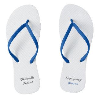 For the Beach. Flip Flops