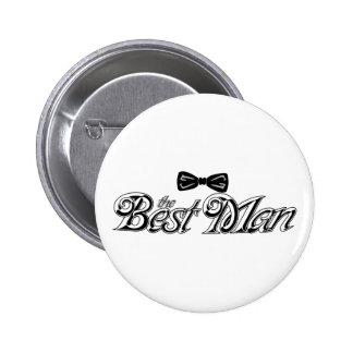 For the Best Man Button