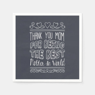For The Best Mom in the World | Napkin
