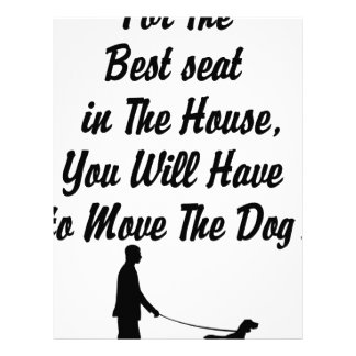 for The Best Seat in The House, life quote Letterhead