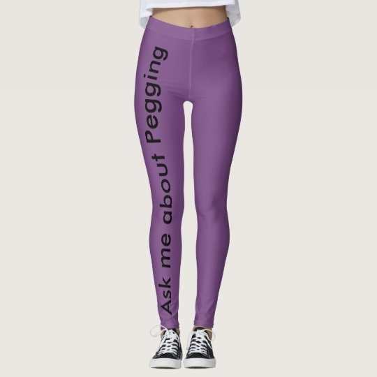 For the boldest among us leggings