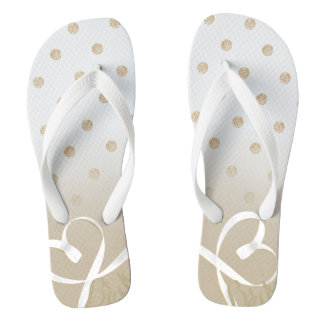 For the bride-to-be! flip flops