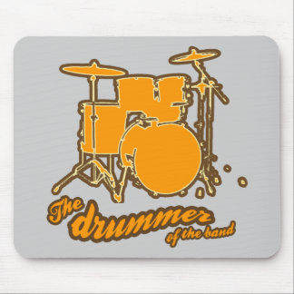 For the drummer | drums mouse pad