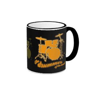 For the drummer ringer coffee mug