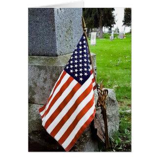 For the Fallen Memorial Day Card