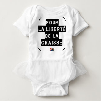 For the FREEDOM OF GREASE - Word game Baby Bodysuit