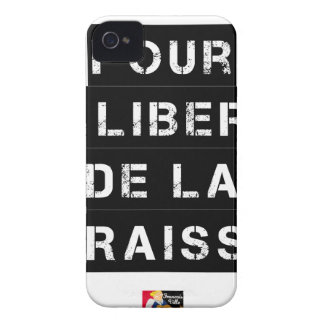 For the FREEDOM OF GREASE - Word game iPhone 4 Case-Mate Case