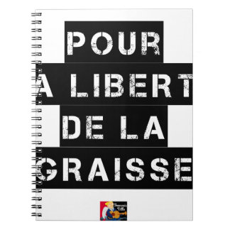 For the FREEDOM OF GREASE - Word game Notebook
