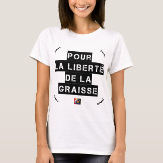 For the FREEDOM OF GREASE - Word game T-Shirt