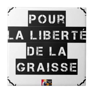For the FREEDOM OF GREASE - Word game Tile