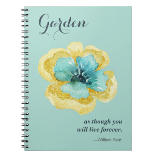 For the Garden Lover! Note Book