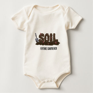 For the Gardeners and Fure gardeners who love dirt Baby Bodysuit