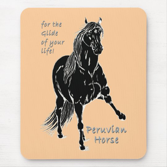 For the Glide of your Life Peruvian Horse Mouse Pad