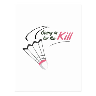 For The Kill Postcard