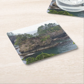 For the Kitchen Square Paper Coaster
