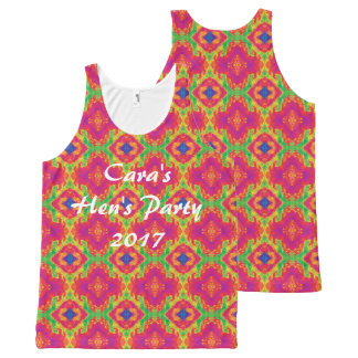 For the Love - Hen's Party Ladies Tank Top