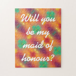 For The Love - Maid of Honour Puzzle