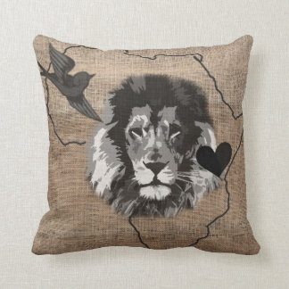 For the love of Africa Throw Pillow