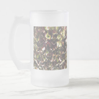 For The Love Of Autumn Frosted Glass Beer Mug