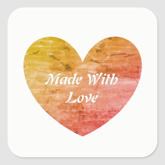 For the Love of Baking - Made With Love Labels