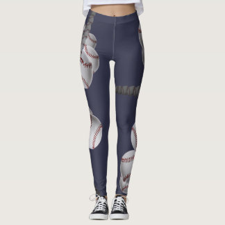 "...for the love of - ""baseball"" LEGGINGS"