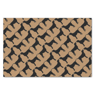 For The Love of Black Lab Dogs Tissue Paper