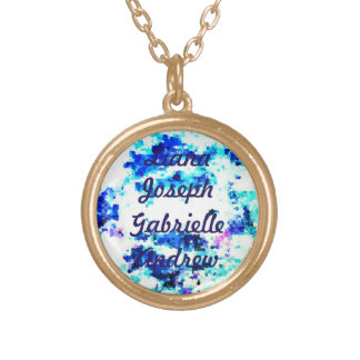 For the Love of Bling - Mother's Name Necklace