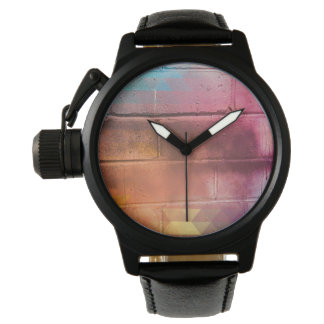 For the Love of Bling - Multi Brick Wall Watch